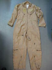 USAF CWU-27/P NOMEX ARAMID DESERT TAN FLIGHT SUIT SIZE 42 SHORT GHOSTBUSTERS