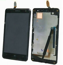 Kit DISPLAY LCD+VETRO TOUCH SCREEN+FRAME per NOKIA LUMIA 625 COVER CORNICE