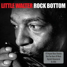 Little Walter ROCK BOTTOM Best Of 47 Songs GREATEST HITS Essential NEW 2 CD