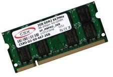 2GB DDR2 667 Mhz RAM ASUS Netbook Eee PC 1008P   Markenspeicher CSX / Hynix