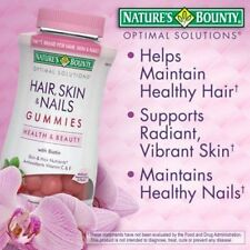 Nature's Bounty® Hair, Skin and Nails, 230 Gummies -NEW..!!