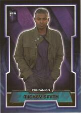 """Topps Doctor Who 2015 - Tardis Logo """"Mickey Smith"""" Unnumbered Gold Parallel Card"""
