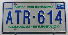 Canada Nummernschild aus New Brunswick, alter Typ. 11158.