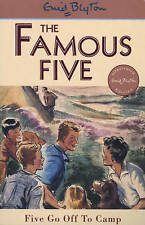 NEW (7)  FIVE GO OFF TO CAMP ( FAMOUS FIVE book ) Enid Blyton
