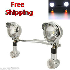 Motorcycle Headlight Set W/ Turn Signals for Honda VTX 1300 C R S RETRO 1800