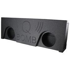 """Qpower QBGMC14210 Qbomb empty Dual 10"""" 2014-15 GMC Crew Cab 4 door"""