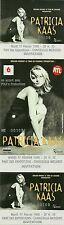 RARE / TICKET DE CONCERT - PATRICIA KAAS A CHARLEVILLE MEZIERES 17 FEVRIER 1998