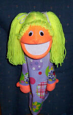 "Blacklight Girl Puppet-13"" tall-Ministry,Teachers,Chr Education-Your choice"
