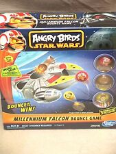 Hasbro Angry Bird Star Wars Millennium Falcon Bounce Game Chewbacca Han Luke NEW