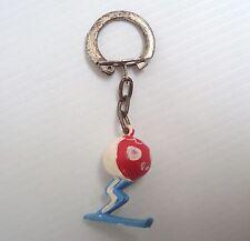 Porte clés ancien JIM mascotte SHUSS JO jeux olympiques de Grenoble 1968