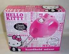 New Hello Kitty Compact Handheld 5 Speed Kitchen Mixer Eject Button