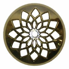 Stained Glass Lamp Supplies 5 Inch Cast Brass Vented Vase Cap Heavy Duty