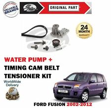 FOR FORD FUSION 1.2 1.4 1.6 16v 2002-2012 TIMING CAM BELT KIT + WATER PUMP SET