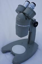 Stereo Microscope, Owens Vintage, two power, 15X and 30X (633960), made in Japan