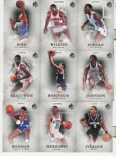 2012-13 UPPER DECK SP AUTHENTIC BASKETBALL COMPLETE BASE SET 1-50