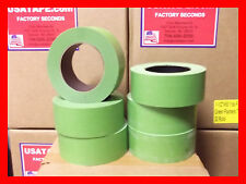 """Lot Of 24 Rolls 2""""X 60 Green Painters Masking Tape QUICK SHIP. USA Made. BLEMS"""