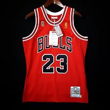 100% Authentic Michael Jordan Mitchell Ness 96 97 Finals Bulls Jersey Size 40 M