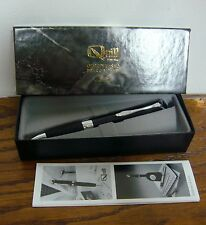 Charter One Bank Logo Quill Pen NM With Guarantee Original Box Black Ballpoint