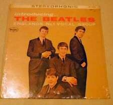 INTRODUCING THE BEATLES VEE JAY RECORD MINT STEREOPHONIC SR 1062 VJLP 1062 RARE