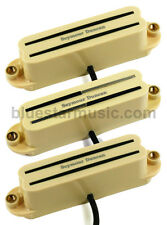 Seymour Duncan Versa-Rails Strat 3 Pickup Set w/SHR-1b, SVR-1n and SCR-1n, Cream