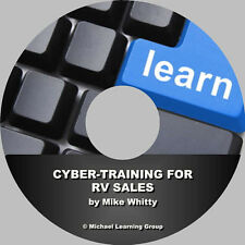 RV Sales Training - Cyber-Training for RV Sales eBook on CD