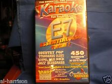 Chartbuster Karaoke Essentials 450 - E-7 DISC # 1 CD+G FACTORY NEW 15 SONGS