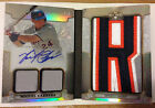 """Miguel Cabrera 2014 Topps Triple Threads Book Jumbo Letter """"R"""" Patch Auto #d 3/3"""