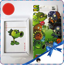 Colorful Game Plants vs Zombies Anime Playing Cards Poker Collection Gift In Box
