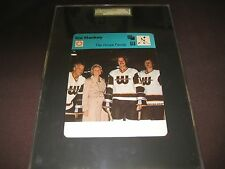 1977-78 SPORTSCASTER USA 63-09 GORDIE HOWE SGC GRADED THE HOWE FAMILY