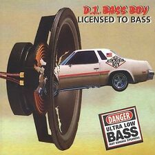 DJ Bass Boys: Licensed to Bass  Audio Cassette