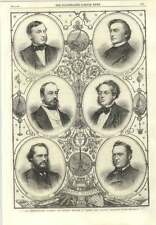 1866 Sir D Gooch Cm Lampson C Canning R Glass W Thompson J Anderson Atlantic Tel