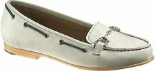 Sebago Darling Link Women's Classic Suede Moccasins Loafers in  GREY size UK 3.5