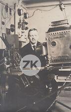 PROJECTEUR Cinématographe CINEMA Gaumont Pathé Bauer Projectionnste Photo 1910s