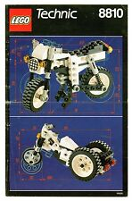 LEGO    TECHNIC   8810   LIBRETTO   NOTICE / INSTRUCTIONS BOOKLET / BAUANLEITUNG