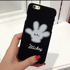 Black Mickey Mouse Hand Phone Case/cover For iPhone 7
