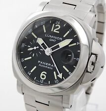 Panerai Luminor GMT Stahl 44mm HAU PAM00297 OP6761 mit Box u. Papieren DE