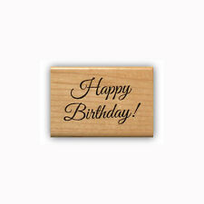 Happy Birthday Mounted rubber stamp #23