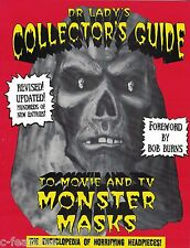DR LADY'S COLLECTOR'S GUIDE TO MOVIE & TV MONSTER MASKS Don Post BOB BURNS Book