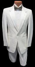 4B Boys White Notch Tuxedo Dinner Jacket Wedding Ringbearer Cruise Formal