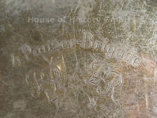 67734: Ehrengeschenk, Abschiedsgeschenk an Generalmajor Werner Kempf, 800 Silber