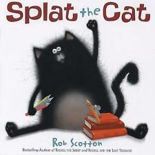 Splat the Cat by Rob Scotton c2008, VGC Hardcover, We Combine Shipping