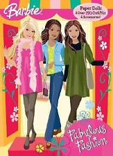 Paper Doll Book: Fabulous Fashion by Golden Books Staff (2008, Paperback)