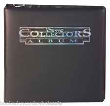 "1 Ultra Pro 3"" Black Trading Card Collector Album Binder New"