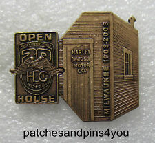 Harley Davidson HOG 20th / Harley Davidson 100th Anniversary Shed Pin New!