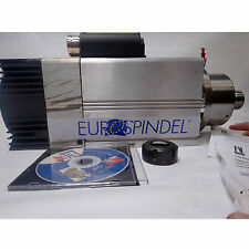 EUROSPINDEL (EUROSPINDLE) HIGH SPEED SPINDLE MOTOR MODEL GHE-ER 32 NEW OLD STOCK