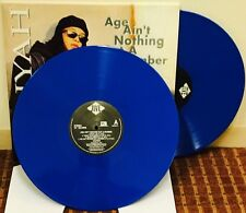 Aaliyah Age Ain't Nothing But A Number Limited Blue Vinyl 2LP & Download Sealed