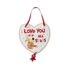 Boofle Love You More Than All The Stars Wooden Plaque Lovely Valentines Day Gift