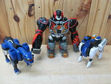 MMPR Power Rangers – Jungle Force Master Megazord + Pride Megazord PARTS