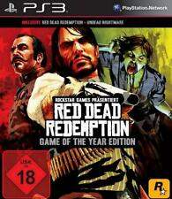 Playstation 3 RED DEAD GOTY Edition REDEMPTION + Undead Nightmare Neuwertig