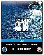 Captain Phillips Limited Edition Steelbook Blu-Ray 2013 Blu-Ray Region free New